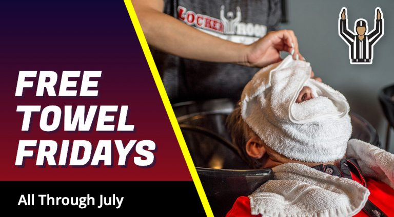 Free Towel Fridays in July
